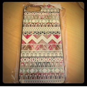Accessories - iPhone 7 Plus case PINK Tribal pattern snap on